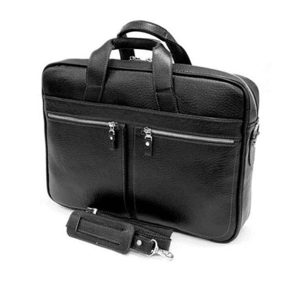 کیف اداری چرم طبیعی آروین کد AR-420