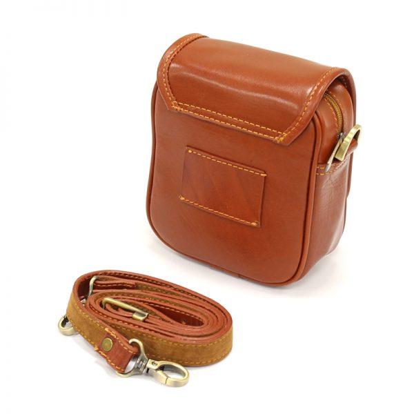 کیف دوشی زنانه چرم طبیعی آروین چرم کد AR-111
