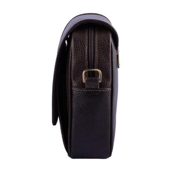 کیف دوشی چرم طبیعی آروین چرم کد AR-119