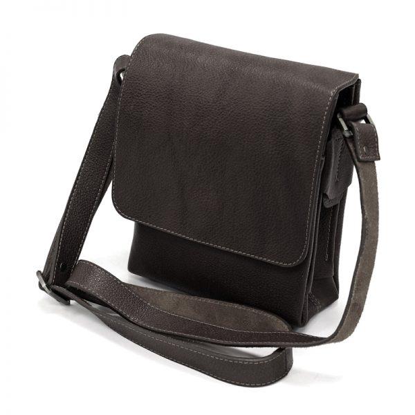 کیف دوشی چرم طبیعی آروین چرم کد AR-127