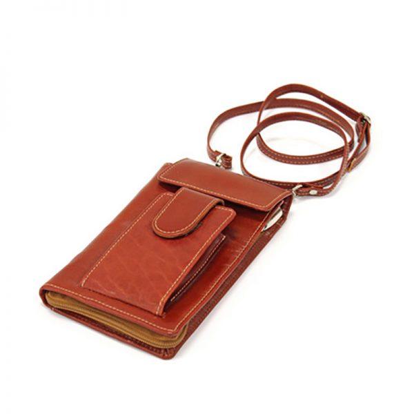 کیف پاسپورتی چرم طبیعی آروین چرم کد AR-712