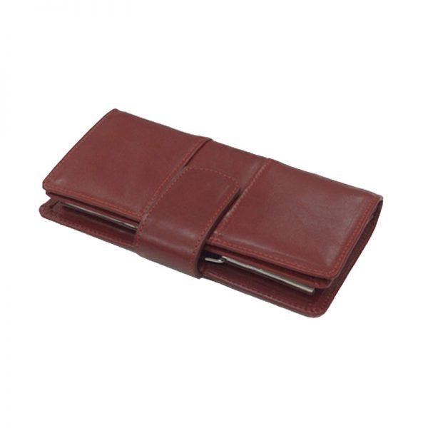 کیف پول زنانه چرم طبیعی آروین چرم کد AR-243