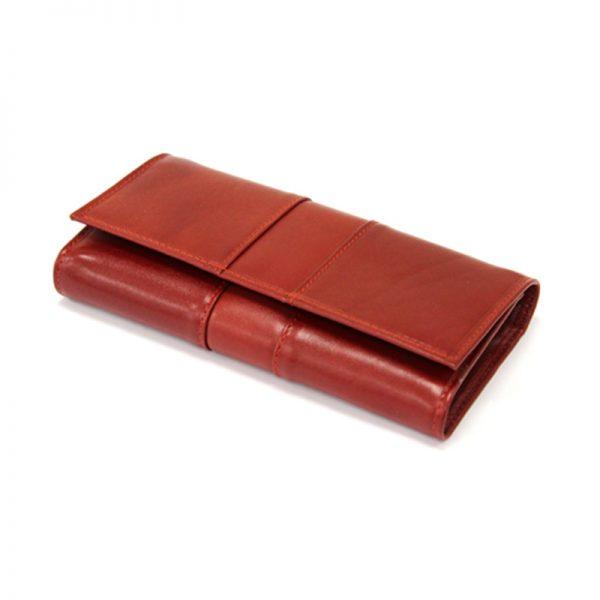 کیف پول زنانه چرم طبیعی آروین چرم کد AR-244