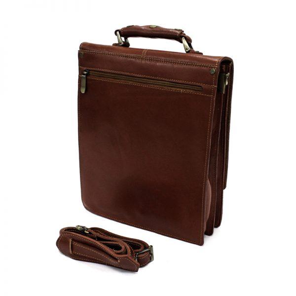 کیف دوشی چرم طبیعی آروین چرم کد AR-801