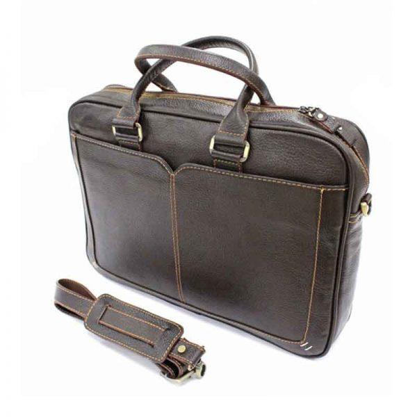 کیف اداری چرم طبیعی آروین کد AR-406