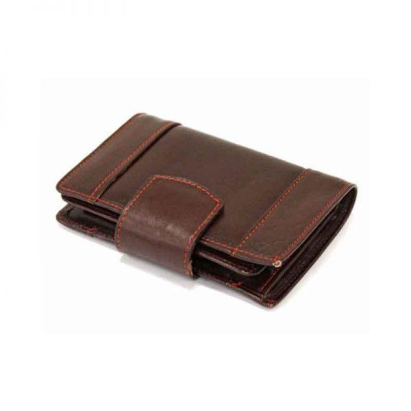 کیف پول زنانه چرم طبیعی آروین چرم کد AR-235