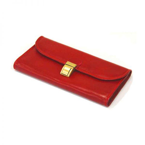 کیف پول زنانه چرم طبیعی آروین چرم کد AR-205