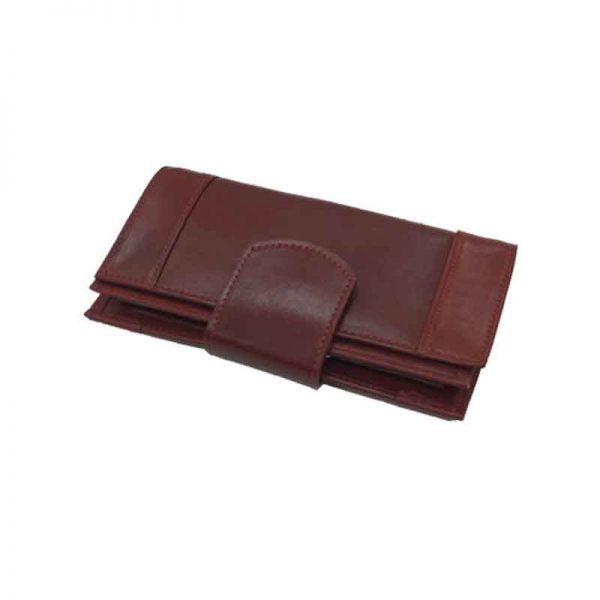 کیف پول زنانه چرم طبیعی آروین چرم کد AR-236