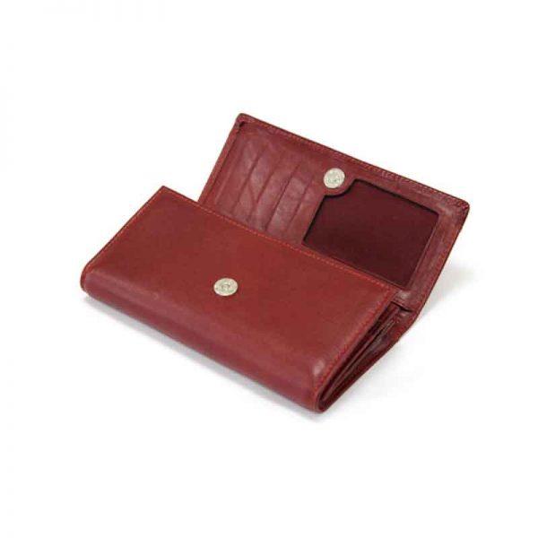 کیف پول زنانه چرم طبیعی آروین چرم کد AR-200