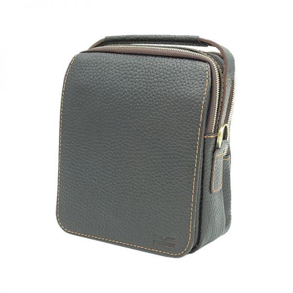 کیف دوشی چرم طبیعی آروین چرم کد AR-146