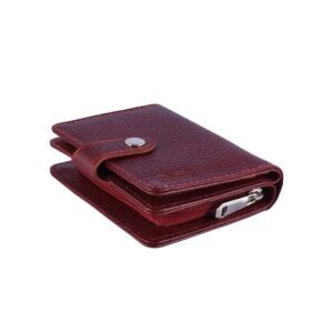 کیف پول زنانه چرم طبیعی آروین چرم کد AR-252